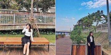 Cây cầu đi bộ bằng gỗ lim tại sông Hương địa điểm check-in mới của giới trẻ
