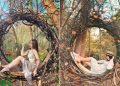 'Xích đu tổ kén' tại Đắk Lắk đẹp tựa Bali thu hút giới trẻ check-in