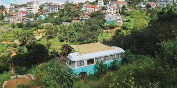 Độc đáo với Homestay xe buýt mới lạ ở Đà Lạt