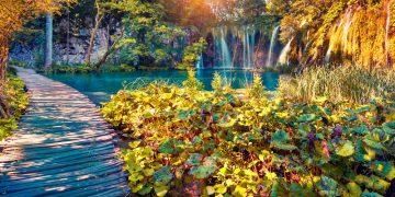 Plitvice Lake – Hồ nước xếp nhiều tầng 'độc nhất vô nhị' ở Croatia