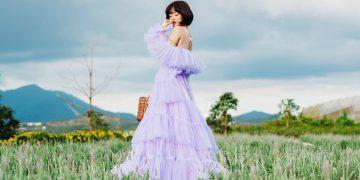 Vườn hoa oải hương mới toanh tại Đà Lạt