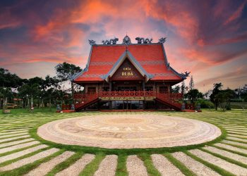 Chùa Di Đà – Ngôi chùa lớn nhất tại Bảo Lộc